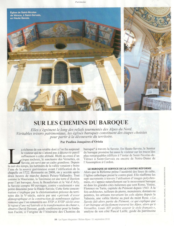 Figaro Magazine 21 sept 18 2