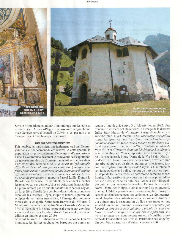 Figaro Magazine 21 sept 18