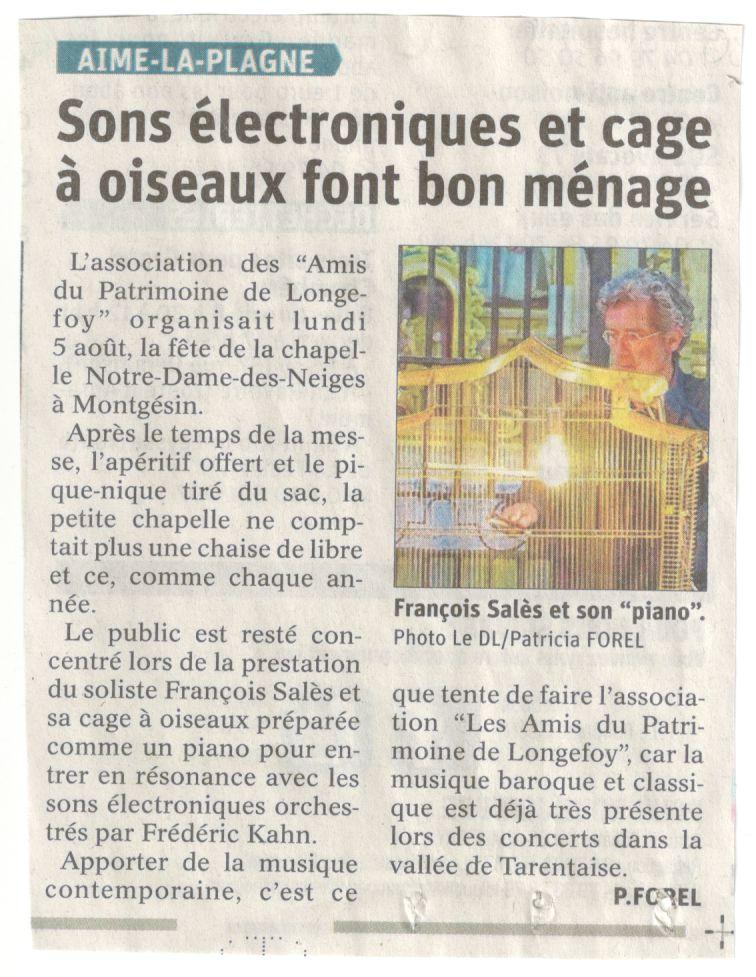 article Dauphiné 8 août 19